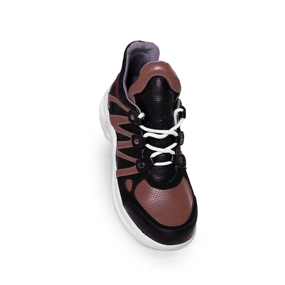 Дамски спортни обувки от естествена кожа SPT-583-210 - 4