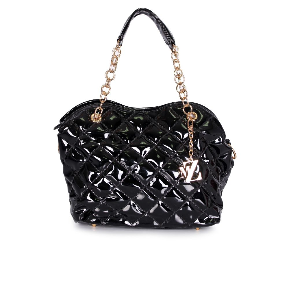 Дамска чанта от еко лак - 1