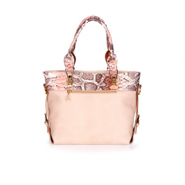 Дамска чанта от естествена и еко кожа