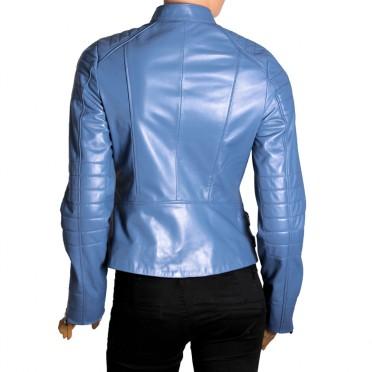 Дамско яке от естествена кожа