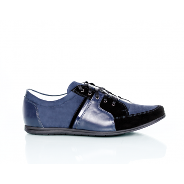 Мъжки спортни обувки от естествена кожа