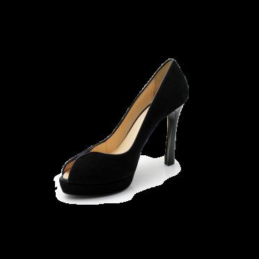 Дамски обувки от естествен велур
