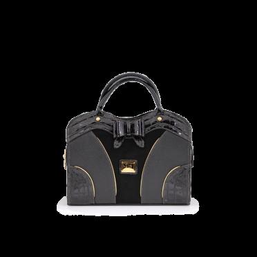 Дамска чанта естествена и еко кожа