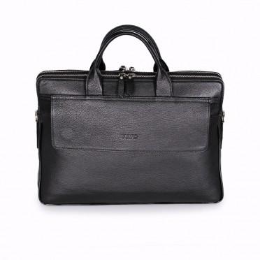 Мъжка чанта от естествена кожа