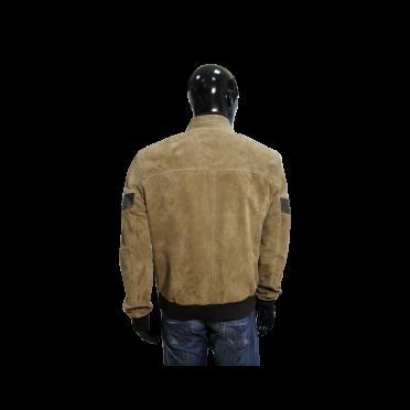 Мъжко яке от естествен велур