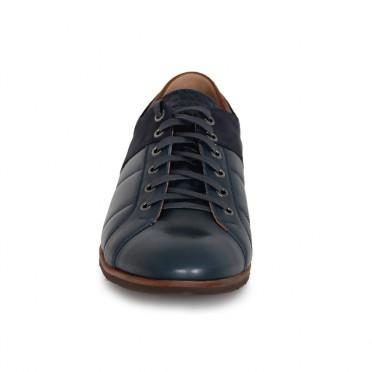 Мъжки спортни обувки от естествена кожа и набук