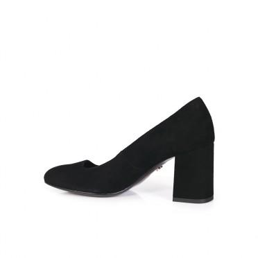 Дамски обувки от естесвен велур