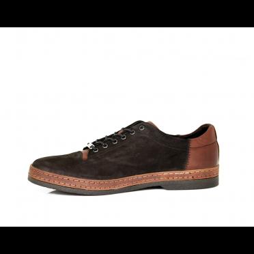 Мъжки спортни обувки от естествен набук