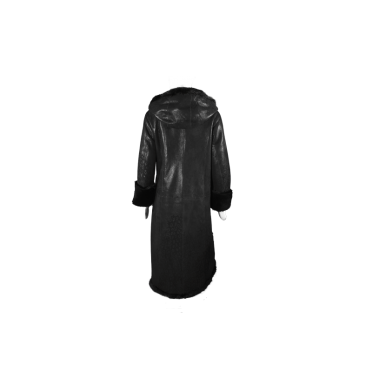 Дамско палто от естествена кожа