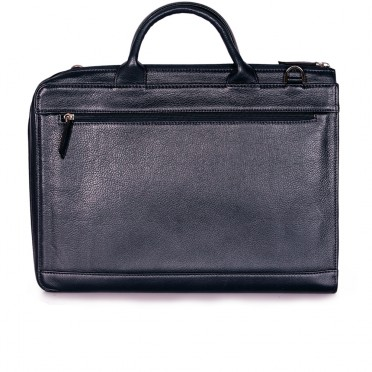 Мъжка бизнес чанта от естествена кожа