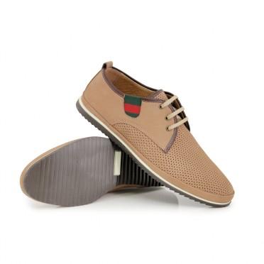 Мъжки ежедневни обувки от естествен набук