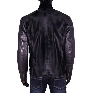 Мъжко яке от естествена кожа
