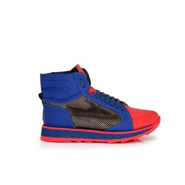 Дамски спортни обувки естествена кожа