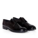 Мъжки официални обувки от естествен лак GRI-2910-06 - 2