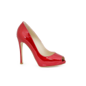 Дамски обувки от естествен лак Н1-13-558