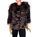 Дамско палто от естествена кожа DLF-1730