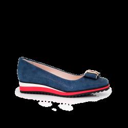 Дамски обувки естествен велур