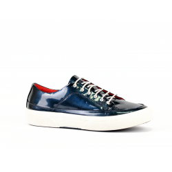 Дамски спортни обувки естествен син лак