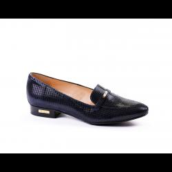 Дамски обувки естествена синя кожа