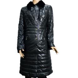 Дамско кожено палто от естествена кожа
