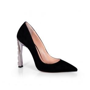 Дамски обувки от естествен велур SY-25075