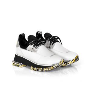 Дамски спортни обувки от естествена кожа и стреч ILV-2052-1 - 2