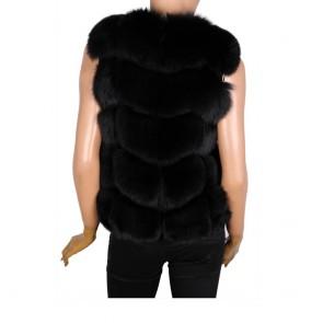 Дамски елек от естествена кожа - 2