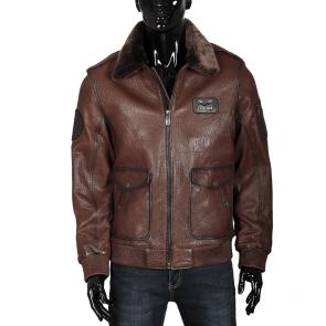 Мъжко яке от естествена кожа ENV-3422