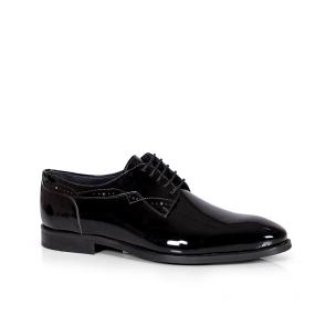 Мъжки официални обувки от естествен лак GRI-2910-06