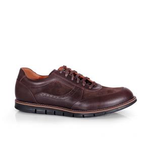 Мъжки обувки от естествена кожа и велур CP-2478S