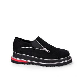 Дамски обувки от естествен велур N55-23-12