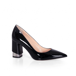 Дамски обувки от естествен лак SY-25212