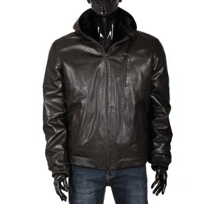 Мъжко яке от естествена кожа ENV-3067
