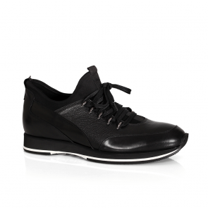 Мъжки обувки от естествена кожа и стреч GRI-3800-03