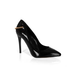 Дамски обувки от естествен лак CP-2559