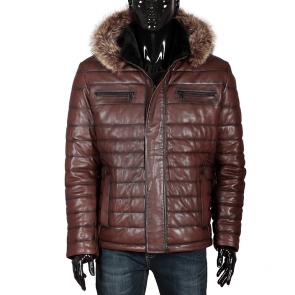 Мъжко яке от естествена кожа ENV-3363