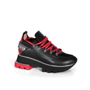 Дамски спортни обувки от естествена кожа ILV-2180