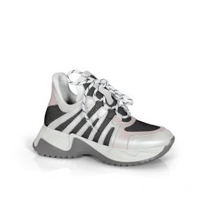 Дамски спортни обувки от естествена кожа ILV-992