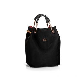 Дамска чанта от еко велур GRD-450