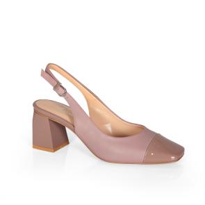 Дамски сандали от естествена кожа ILV-4521