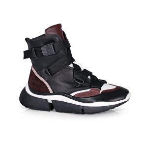 Дамски спортни обувки от естествена кожа N55-1B