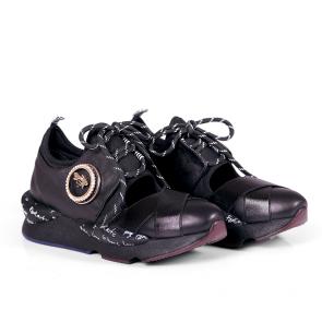 Дамски спортни обувки от естествена кожа ILV-6236 - 2