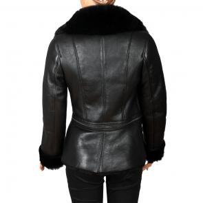 Дамско яке от естествена кожа ING-1902 - 2