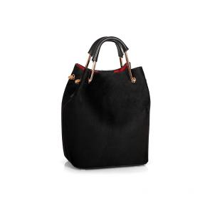 Дамска чанта от еко велур GRD-450 - 2