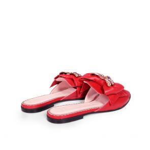 Дамски чехли от естествена кожа BV-2449 - 2