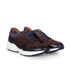 Мъжки обувки от естествена кожа BRC-95101 - 2