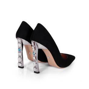 Дамски обувки от естествен велур SY-25075 - 2