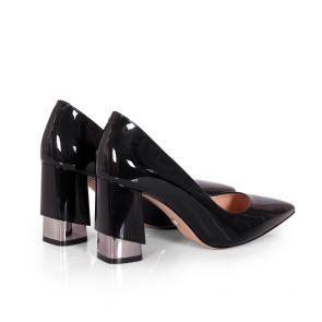 Дамски обувки от естествен лак SY-25212 - 2