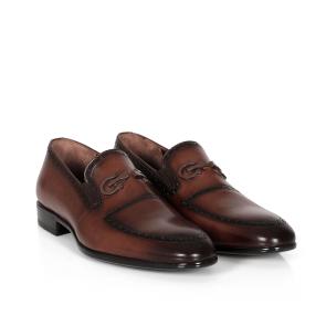 Мъжки обувки от естествена кожа ETR-161136 - 2