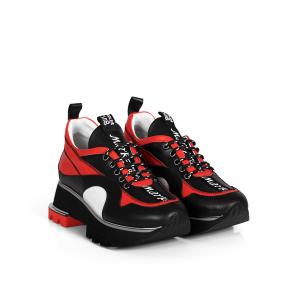 Дамски спортни обувки от естествена кожа ILV-2386 - 2